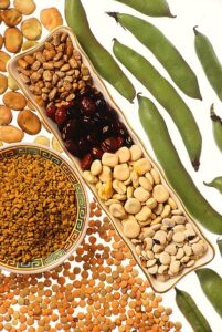 nuts, seeds, pulses