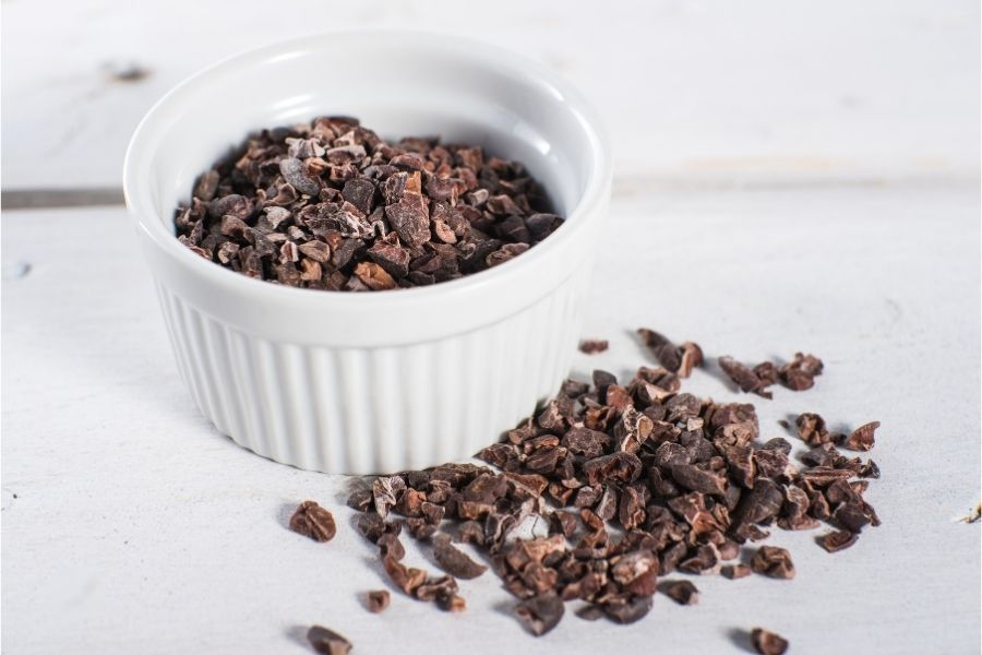 High cacao chocolate nibs