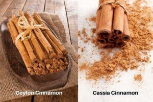 ceylon and cassia cinnamon