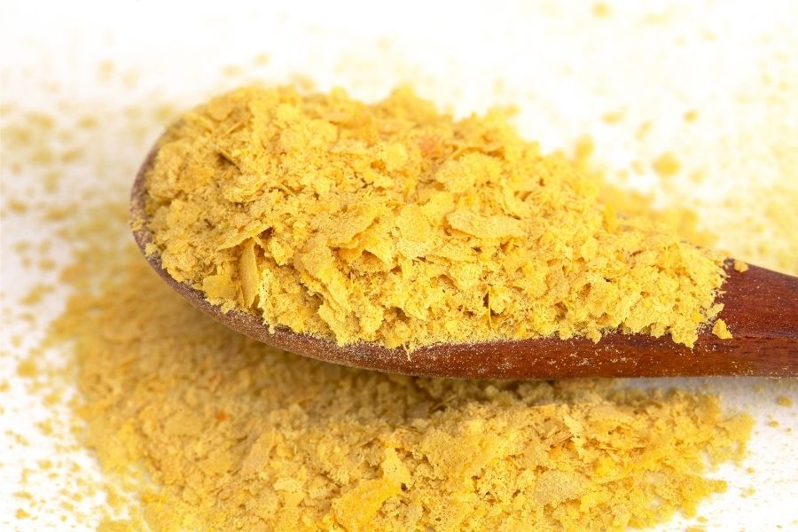 spoonful of nutritional yeast