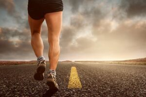running is a cardiovascular exercise