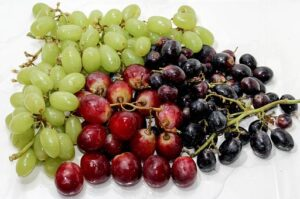 brightly coloured fruits are anti aging