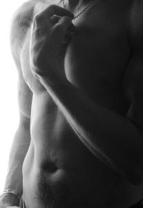 mans torso