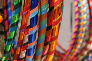 selection of hula hoops