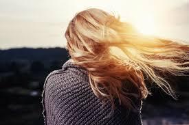 long lustrous hair