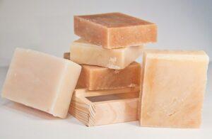 natural bars of soap