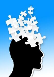 dementia and alzheimer's is a jigsaw puzzle of the mind