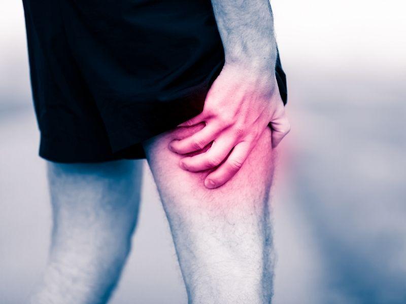 Sore leg muscles