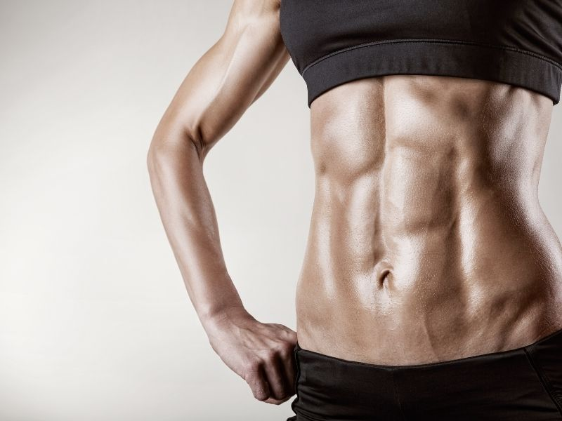 flat stomach muscles