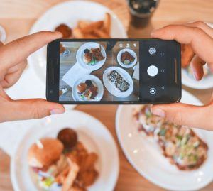 smart phone images of food
