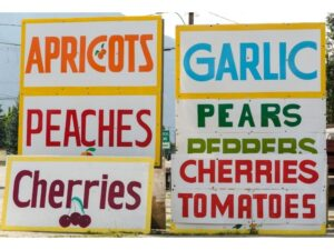 superfood signs