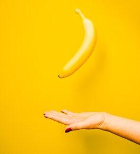 yellow ripe banana