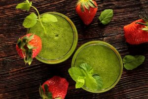 Green super food smoothie