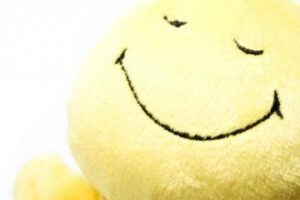 smiley face cushion