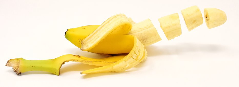bananas are filling and are full of potassium and fiber to keep you full