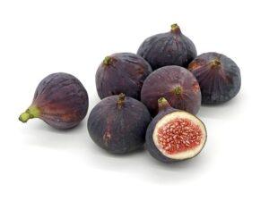 fresh figs contain fiber and calcium