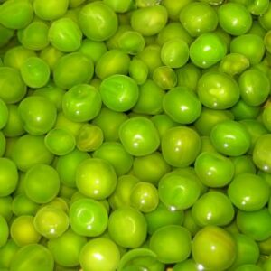 cooked green peas