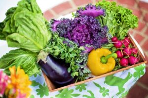 vegetables are high in antioxidants and are anti aging