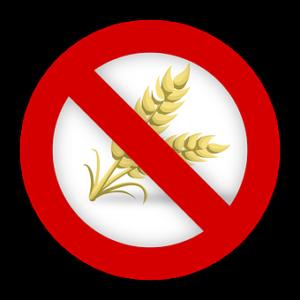wheat, gluten free sign