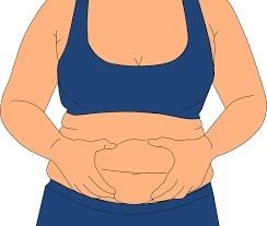 bulging belly fat