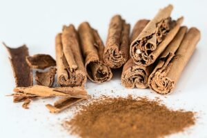 cinnamon is a metabolism booster and helps with weight loss