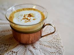 hot turmeric milk