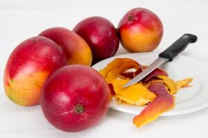 whole mangoes
