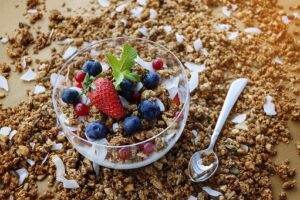 Homemade high protein Granola