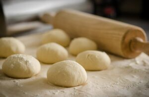 proving bread rolls