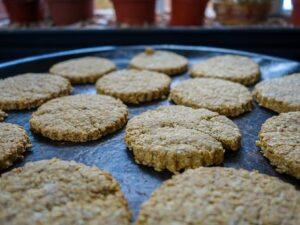 homemade oat cookies