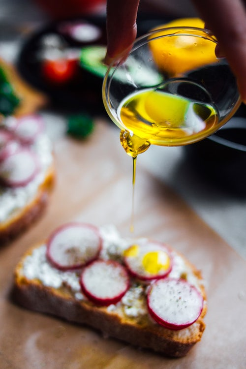 drizzle of olive oil