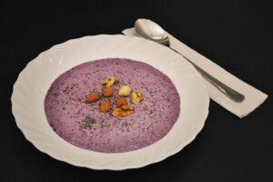 blueberry chia porridge