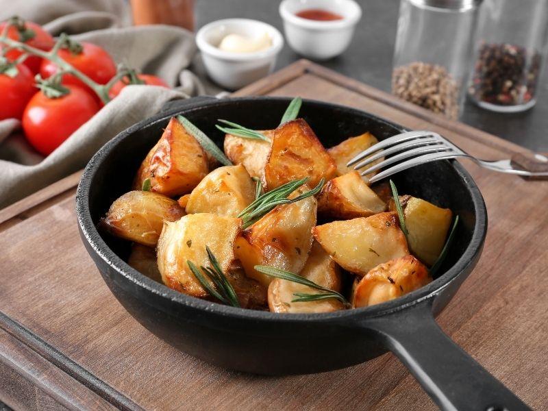 roast potatoes and rosemary