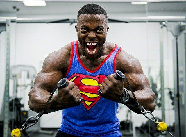 big muscles