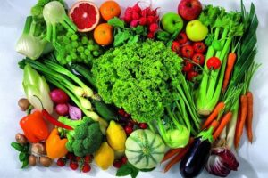 mix of plant foods