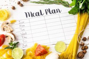 sample meal plan