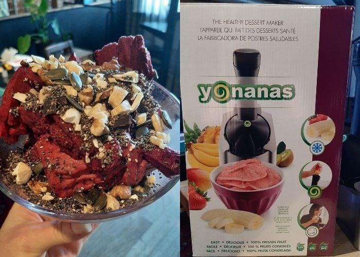 Yonanas ice-cream maker