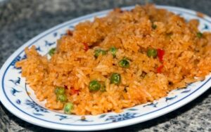 Tofu Fried Brown Rice & Vegetables Recipe - High Protein!