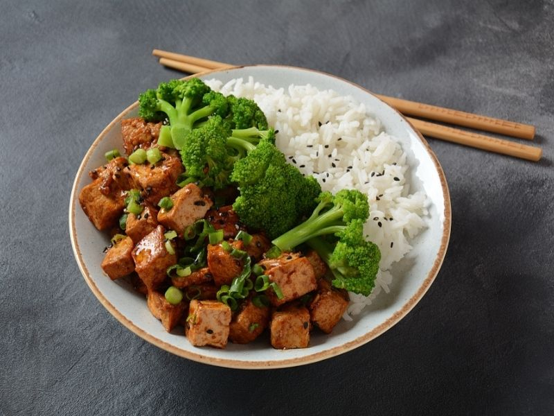 Sticky Teriyaki Tofu & Broccoli Stir-Fry